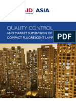 USAID/Asia, Quality Control and Market Supervision of CFLS in China, 4-2010