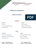 Mechanical and Boi-Medical Brochure