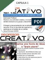 capsulas creatividad
