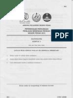 Mathematics 1 (Perak's PMR Trial 2012)