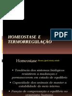 Homeostase  e termorregulação - PH