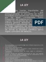 La Ley Diapositivas