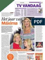 Het jaar van Máxima TV Vandaag