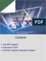 logistics execution