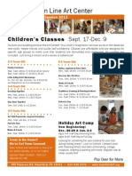Fall 2012 Children's Classes