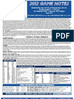 Bluefield Blue Jays Game Notes 8-7