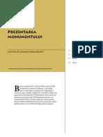 Corbi de Piatra - Studiu Interdisciplinar - Prezentarea monumentului (Cap. 1)
