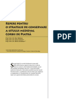 Corbi de Piatra - Studiu Interdisciplinar - Repere pentru o strategie de conservare a sitului medieval Corbii de Piatră (Cap. 8)