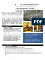 Diesel Engine Assembly System