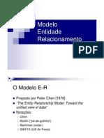 Modelo de Entidade e Relacionamento (MER)