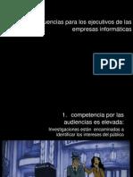 Consecuencias para los ejecutivos de empresas informativas