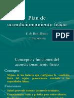 Plan de Acondicionamiento Fisico