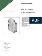 SIP08 G408 Ultra SlimPak