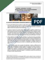 164. LA ESCUELA, EL PATIO, LA CALLE + LOS ESPACIOS DE LA EDUCACION MODERNA