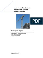 TVBK-5173KRB Discrete-Event Simulations of Construction Related Production Systems