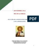 Semana Bíblica 2012 Texto final