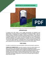 Biodigestor - Pequeno Teste