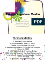 Hierarki Keperluan Maslow