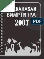 SNMPTN IPA 2007 + Pembahasan
