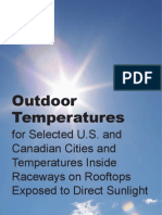 ASHRAE Rooftop Temperatures