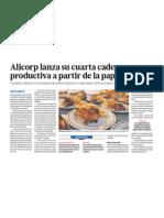 Alicorp cadena productica con papa peruana