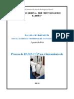 PROCESO DE RADIACIÓN EN EL TRATAMIENTO DE ALIMENTOS (1)