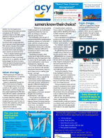 Pharmacy Daily for Wed 08 Aug 2012 - Consumers and Choice, Shopping around, Saizen shortage, Health