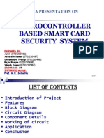 Microller Based Security System