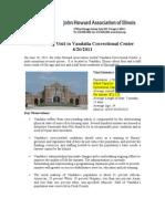 John Howard Association-Report from Vandalia