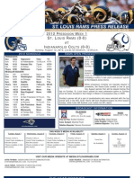 Rams COlts preseason game 1 2012