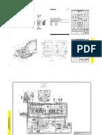 Diagrama Hidraulico 345 b