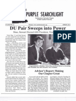 Delta Upsilon Northwestern | Purple Searchlight | Spring 2012