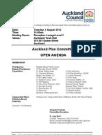 Auckland Plan 7/8/2012