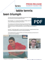 ABOUT ANDY TERZIU (ERNEST BEVIN COLLEGE- REPORT BY JAMIE HANDERSON