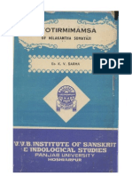 Jyotirmimansa