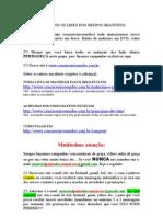 MATERIAIS GRATUITOS - LEIA COM ATENÇÃO