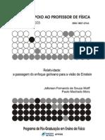 Relatividade a passagem do enfoque galileano para a visão de Einstein