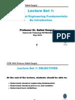 L1=Chemical Engineering Fundamentals