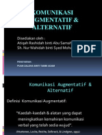 Komunikasi Augmentatif Dan Alternatif