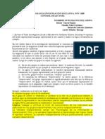 CURSO METODOLOGÍA INVESTIGACIÓN EDUCATIVA 1
