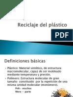 Reciclaje del plástico