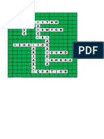 Excel Crossword Puzzle