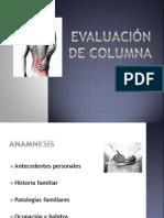 Evaluación de Columna