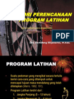 Menyusun Program Latihan