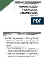 ADMINISTRAÇÃO FINANCEIRA -  8