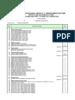 Metrados Conciliados Contractuales SER Ayabaca v Etapa