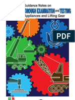 Guidance Notes Inspection and Examination - Lifting Equipment