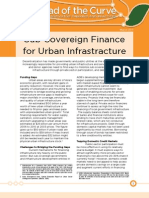 Sub-Sovereign Finance for Urban Infrastracture