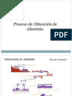 Proceso de Obtención del Aluminio
