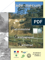 GUI inventaire patrimonial & géologique _sgf2006